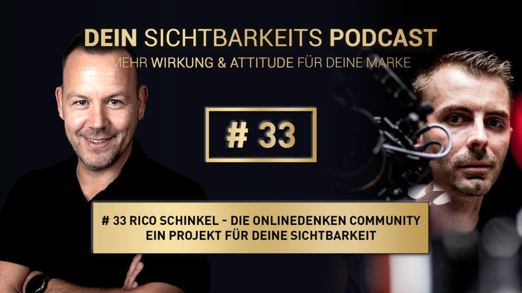 Onlinedenken Community - Rico Schinkel über die Sichtbarkeits-Plattform