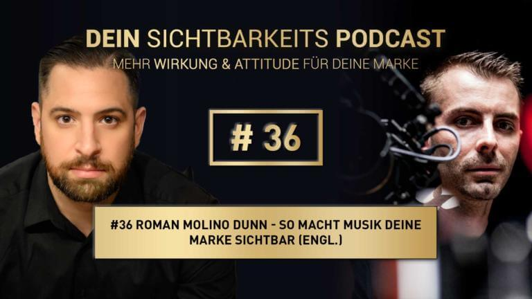 Roman Molino Dunn and Oliver Albrecht in a Podcast
